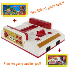 New Video Game Console To TV With Wireless Gamepad Controller HD HDMI TV Out For 8bit Family TV game +500 in1 400 In1 game card(China)