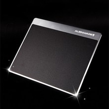 Metal Mouse Pad SUltra Thin Aluminum computer mouse pads Frosted For Alienware Xiaomi Mouse Razer teelseries Mouse