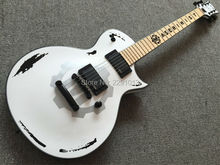 Custom guitar Custom Shop White James Hetfield Mahogany Electric Guitar ESP Guitars
