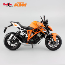 1:12 Scale original children's KTM1290 diecast motor bike race cars miniature collectible motorcycle models gifts for kid toys