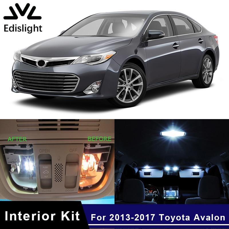 For 2016 2017 2018 Toyota Avalon LED Lights Interior Package Kit WHITE 11PCS
