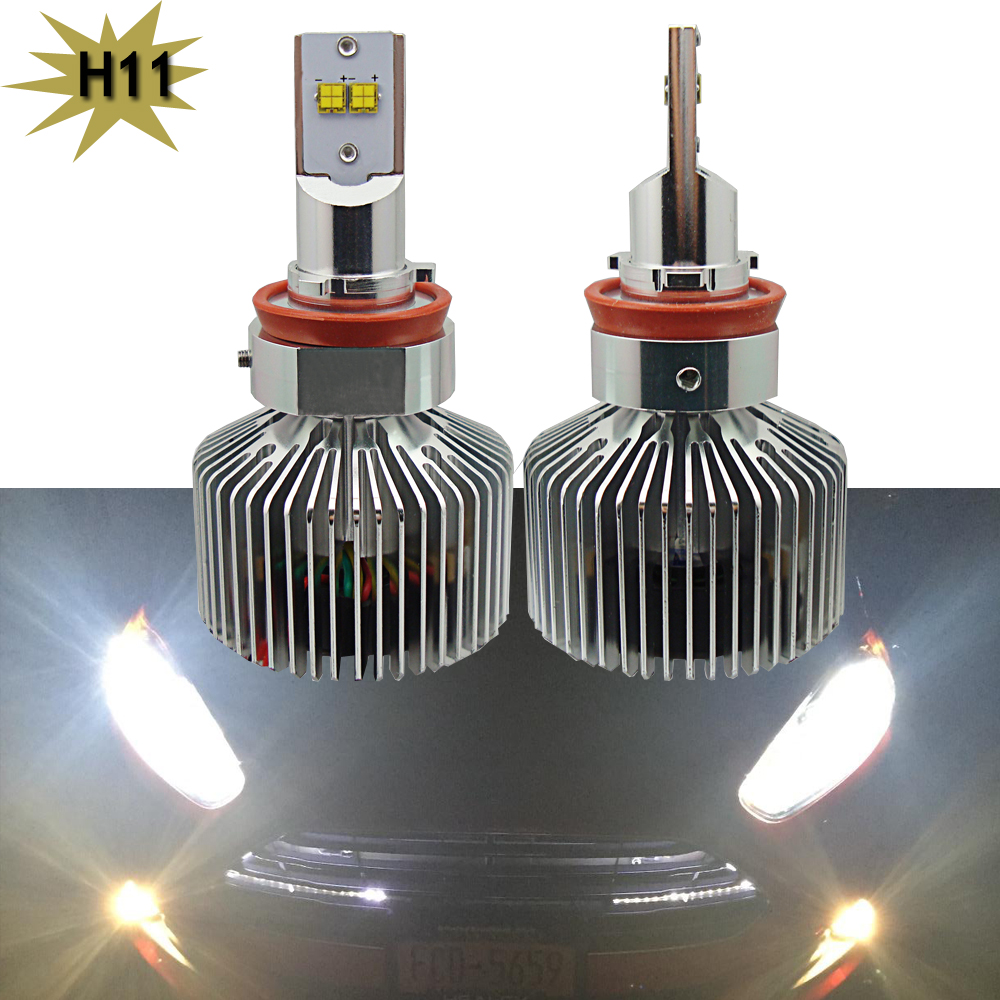1 pair 90W 9000lm H8 H9 H11 12V 24V canbus Car Automotives Led Headlight kit bulb led Fog lamp DRL with Fan Play &amp; Plug<br><br>Aliexpress