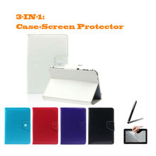 "For Acer Aspire One 10 Z3735F  10.1"" Inch Universal Tablet PU Leather cover case Free Gift"