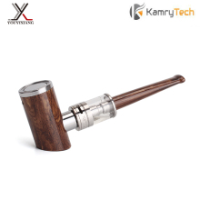 100% Original Kamry E-Pipe kit 1000mAh Smoking Hookah Pen Wooden Design E Pipe K1000 Plus 18650 Electronic Cigarette Hookah