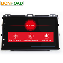"9""2Din Android 7.1.2 OS Allwinner T8 8 Core Car PC Tablet universal For Prado 120 Land Cruiser 120,2002-2009 GPS Radio Audio"