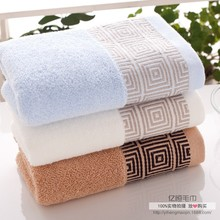 New Arrival Pure Cotton Untwisted Towel Washcloth Washrag High Quality Cotton Made in China Home Decor Towels Lattice Sports