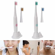 Seago Electric Toothbrush Ultrasonic Oral Care Cleaning Battery Power Tooth Brush 2 Color New 2017