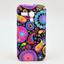 Fashion Chinese flower owl USA UK flag soft tpu silicon case cover for Motorola Moto G gphone XT1032 with screen film