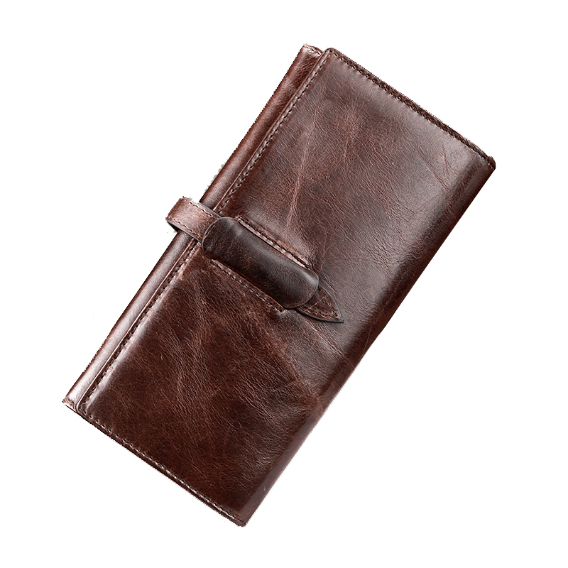 Men Purse Wallets 2017 Male Clutch Genuine Leather Gents Wallets Famous Brand Designers Vintage Hasp Cell Phone Pocket Carteras<br><br>Aliexpress