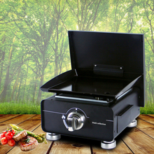 Popular Gas Plancha BBQ Grill Multifunctional Cooking Machine Griddle