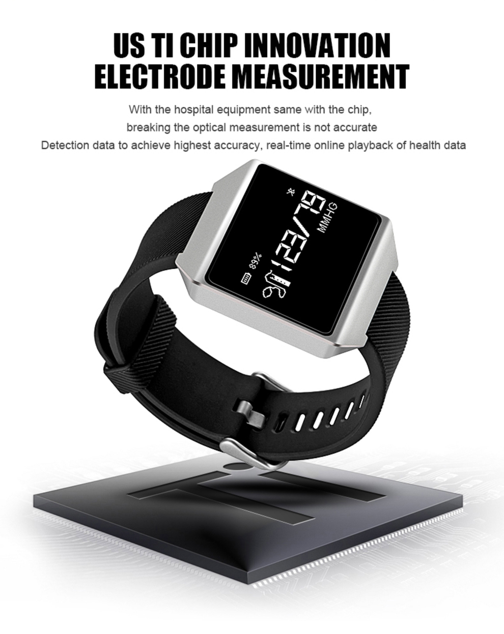 CK12 graphene smart watch ECG heart rate blood pressure sleep monitoring smart wristbands for android ios pedometer sport watch 9