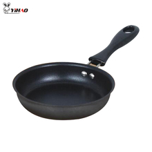 YiHAO 12 Cm Cast Iron Mini Frying Pan, Breakfast Fried Egg Pan Can Be Used For Gas Stove And Induction Cooker(China)
