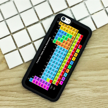 TPU Phone Cases For iPhone 6 6S 7 Plus 5 5S 5C SE 4 4S ipod touch 4 5 6 Cover Shell Chemical Chemistry College Periodic Tables