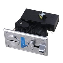 BQLZR Black Plastic Plate CPU Coin Selector Acceptor Comparative Side Cast Support One Kind Token/Coin with One Output(China)