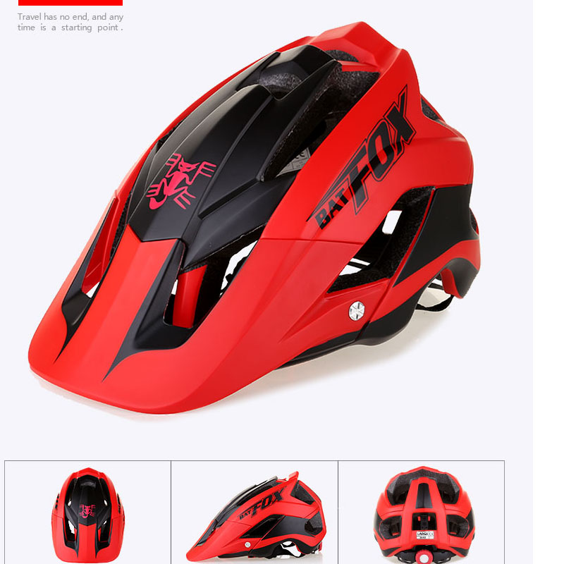 BATFOX Women Men Cycling shark Helmet cycling helmets road bike Bicycle casco specialiced ciclismo mtb hombre protone helmet 5