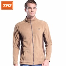TFO Men hiking jacket fleece outdoor jackets softshell warming thermal winter climbing hunting camping zipper coat polar 2017(China)