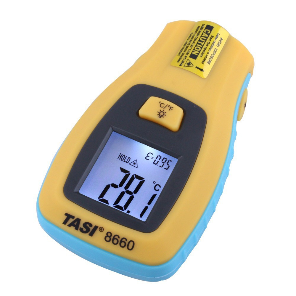 Pocket Digital Infrared Laser Thermometer LCD display Range -50 to 330 Degree Celsius Easy Operation IR Thermometer TASI-8660(China (Mainland))