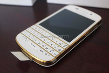 "100% Original  BlackBerry Q10 QWERTY Keyboard 8.0MP 3.1"" Capacitive touch screen Dual core 16GB ROM 3G/4G free shipping"