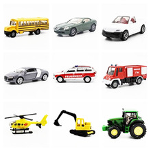 siku 1:64 tractor Transport Cargo Engineering Car Model Trailer Crane Child Toys multiple choices Metal Material Like a gift