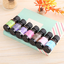 BU-Bauty New 1pc 6 Flavors Car Natural Plant Essential Air Humidifier Freshener Water Soluble Perfume Oil Car Styling