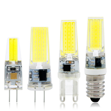 Mini LED Lamp G4 G9 E14 AC / DC 12V 220V 3W 2W COB LED G4 G9 Bulb Dimmable 360 Beam Angle Replace Halogen Chandelier Lights