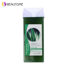 Soft Efficient Hair Removal Wax Roll on Depilatory Wax Depilatory Cartridge Heater Waxing Aloe Vera Taste Hair Removal Tool(China)