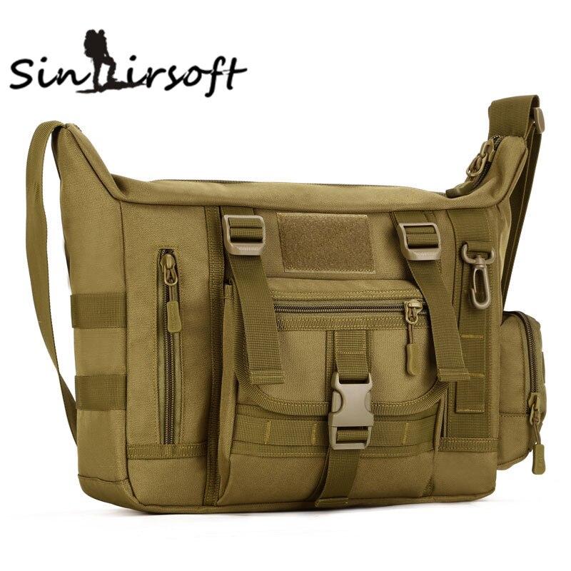 Large Men A4 14 Inch Laptop Shoulder School Bag Ultra-light Range Soldier Ultimate Stealth Heavy Duty Carrier LY0042<br><br>Aliexpress