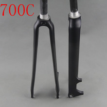 new style carbon fiber road bike fork fit V brake disc brake 3k matte gloss finish bicycle fork bicicleta garfo 28.6mm 700c
