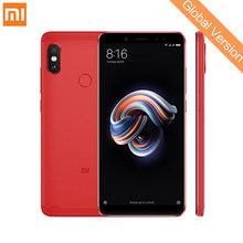 "Глобальная версия Xiaomi Redmi Note 5 4 GB 64 GB Android 8,1 мобильный телефон Snapdragon 636 Octa Core 5,99 ""18:9 полный Экран двойной Камера(China)"