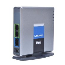 Fast Shipping! Unlocked VoIP Linksys PAP2T. Internet Phone Adapter with Two Phone Ports(China)