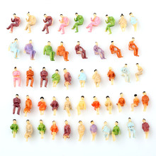 50 PCS HO scale ALL Seated People sitting figures Passengers 1:100 New(China)