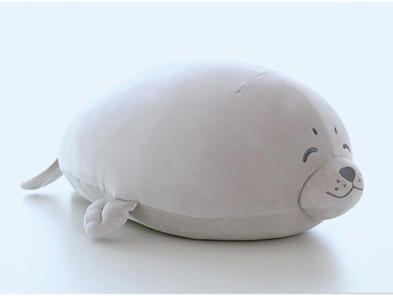 1pcs Cute Soft Animal Sea Lion Doll Baby Sleeping Pillow Marine Animals Seal Plush Toy Kids Stuffed Toys Gift (22)
