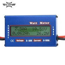 ACEHE 1pc 100A 60V DC RC Helicopter Airplane Battery Power Analyzer Watt Meter Balancer Wholesale Store 2016 Top Sale
