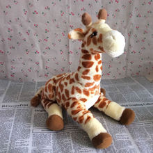 Free Shipping 40cm=15.7'' Original Giraffe doll Stuffed animal soft plush toys for baby gift(China)