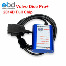 For Volvo Diagnostic Tool Vida Dice Super For Volvo Pro+ With 2014D Full Chip Communication Equipment For Volvo Vida Dice Pro(China)