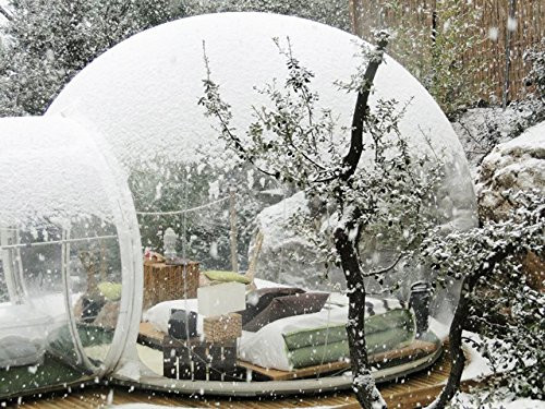 Watch scenery Transparent inflatable lawn bubble tent,bubble camping equipment inflatable beach tent,Inflatable wedding Tent 07