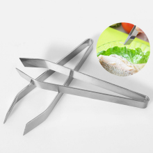 Stainless Steel Fish Bone Remover Pincer Clip Puller Tweezer Tongs Fish Bone Plucking Clamp Kitchen Gadgets