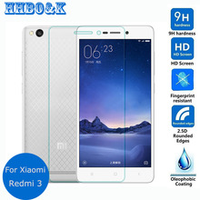 "For Xiaomi redmi 3 3S 3X Tempered Glass Lcd Screen Protector 2.5D 9h Safety Protective Film on Red rice 3 Redmi3 Pro 3S 5.0""inch"