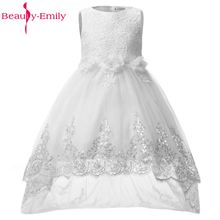 Beauty-Emily Baby Flower Girl Dresses 2017 Party Dress Summer Formal Events First Communion Girl dresses for kids Weddings Gowns
