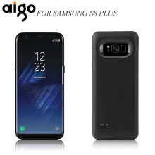 Aigo Power Bank Rechargeable Li-polymer Battery Case Portable Backup Battery 5500mAh Power Supply for Samsung Galaxy S8 Plus(China)