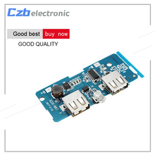 5V 2A Power Bank Charger Board Charging Circuit Board Step Up Boost Power Supply Module Dual USB Output(China)