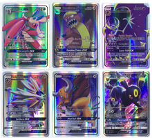 TCG Cards 20Pcs No Repeat All GX Shiny English Trading Card GX Game Collection Anime Figure Charizard Cards Kid Brinquedos Gift