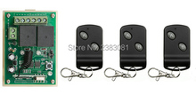 NEW DC12V 2CH 10A Receiver & Transmitter RF Wireless Remote Switch teleswitch omenrary Toggle Latched Adjustable(China)