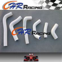 White silicone radiator coolant hose kit FOR 2002 - 2004 HONDA CRF450R CRF 450 R 02 03 04