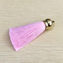 New Silk Tassel Keychain For Women Trinket DIY Charm For Jewelry Making Accessiories Bag Purse Key Chain Ring Wedding Party Gift