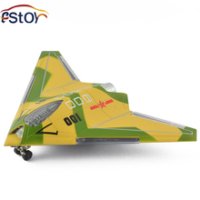 16CM Alloy Diecast Plane Model Simulation Stealth Drone Fighter Model Pull Back Light&Sound Aircraft Model Gift for Kids