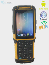 Mobile wireless rugged Android 4.2 os PDA scanner TS-901 13.6MHZ RFID card reader