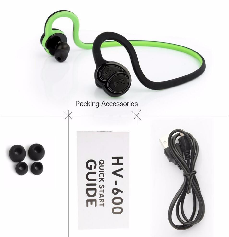 HV600 Wireless Bluetooth headset MTK4.1 Stereo Bluetooth Earphone Scalable waterproof sweatproof For sport phone MP3