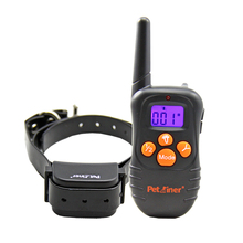 New Hot Petainer Big LCD Display 300m Vibration Beep Only Dog Remote Training Collar Shock free Dog Trainer(China)