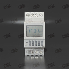 Micro-computer Time Control Switch Timer Electronic Programmable Digital TIMER SWITCH Relay Control 220V 16A Din Rail Mount